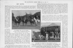 1906-Antique-Print-LONDON-Hurlingham-Polo-Prince-princess-Wales-Winners-55