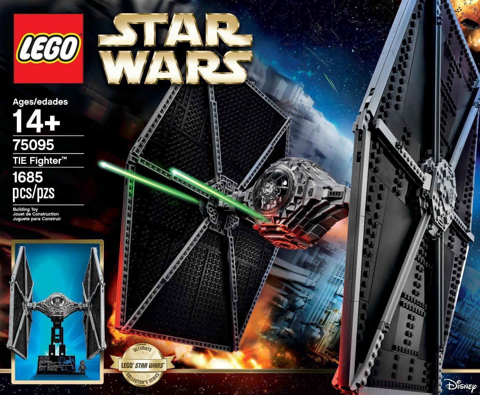 Lego STAR STAR STAR WARS Tie Fighter 75095 New Sealed Box UCS Ultimate Collectors Series 753b0c