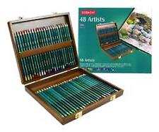Derwent2301660 Coloursoft Colouring Pencils Set of 48 in Wooden Gift Box,
