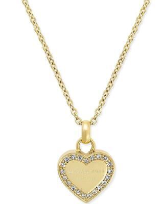 Michael Kors Halskette Collier mit Anhänger MKJ3969710 Edelstahl gelbgold | eBay