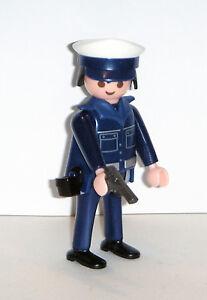 PLAYMOBIL-CITY-POLICIAS-Agente-de-policia-de-la-ref-6529-con-gorra-y-pistola