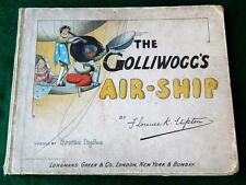FLORENCE UPTON ANTIQUE 1902 1st EDITION CHILDRENS BOOK 'THE GOLLIWOGGS AIR SHIP'