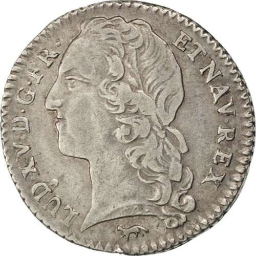 #27133 FRANCE, 110 Ecu, 1742, Paris, KM #511.1, EF4045, Silver, Gadoury