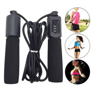 10FT Jump Rop Foam Handles Kids Skipping Rope With Counter Jump Fitness Exercise