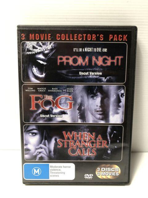 Prom Night The Fog When A Stranger Calls DVD 3xpack Horror Pack