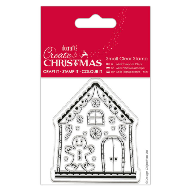 NEW PAPERMANIA VILLAGE 40 PIECE CLEAR STAMP SET HOUSE CHURCH SCENE CARD MAKING
