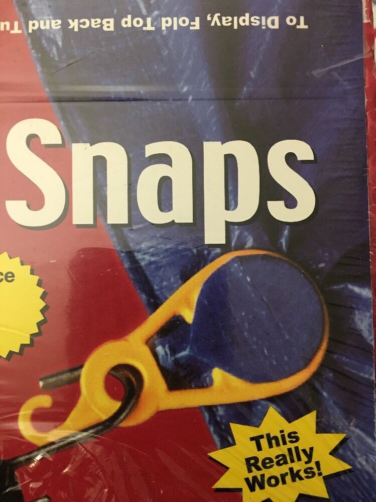 48 pc SUPER SNAP  YELLOW REUSABLE GROMMET FOR TARPS NEW, SEALED BOX MADE IN USA