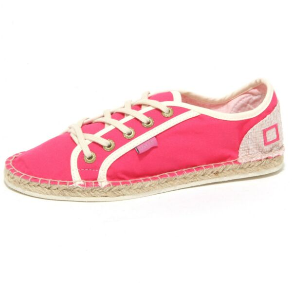 0793o Sneakers Donna D.a.t.e. Espadrillas Fuxia Shoes Woman Quell Summer Thirst