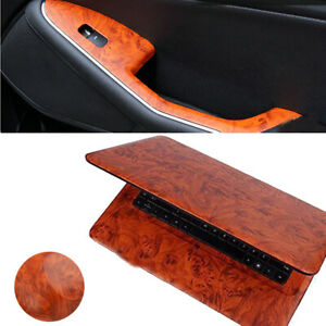 Bird-Eye-Wood-Grain-Textured-Vinyl-Wrap-Sticker-Decal-Sheet-Film-For-Car-Auto