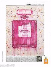 PUBLICITE ADVERTISING 105  2011   CHANEL N°5 paerfum  par VICTOR ASH