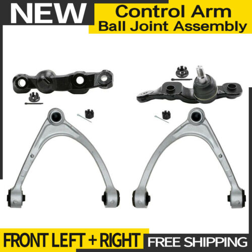 Ball JointControl Arm+Ball Joint Fits 06 Lexus LS430 4X Moog Front Lower+Upper