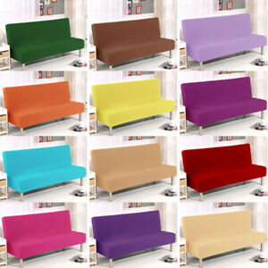 Sofa Bed Cover Home Folding Armless