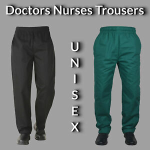Doctors-Trousers-Nurse-Trousers-Healthcare-Trousers-UNISEX-Medical-Trousers