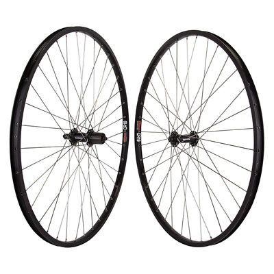 DT New Pair of Sun CR18 Silver 36h Shimano 8-10 speed Wheelset  Quick Release