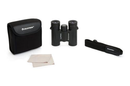 Reino Unido stock Nuevo Y En Caja Celestron Terrallende X 10 X 25 Binoculares compactos en negro