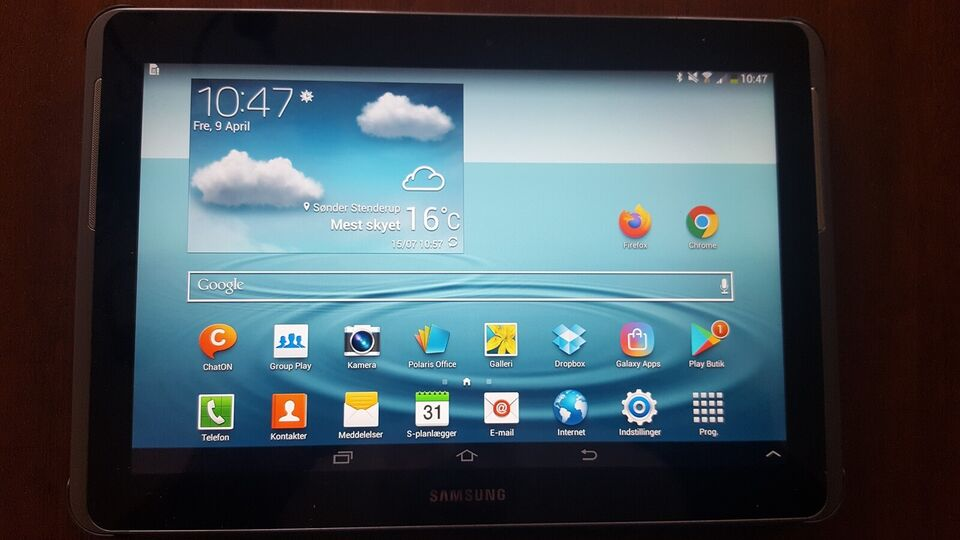Samsung, Galaxy Tab 2 10.1 GT-P5100, 10,1 tommer