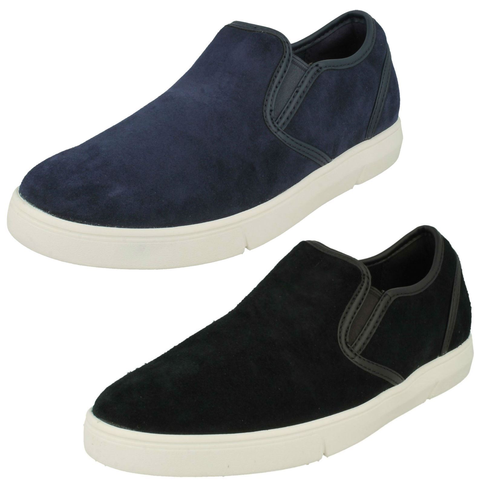 Mens Clarks Casual Slip On shoes 'Landry Step'