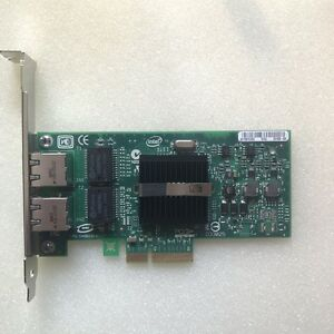 Details about INTEL 82571EB PRO/1000 PT Dual Port Server Adapter EXPI9402PT  PCI-e Network Card