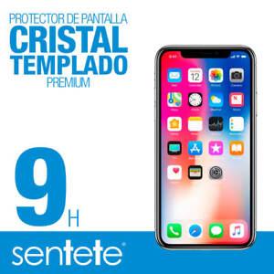 Sentete® iPhone XS Protector de Pantalla de Cristal Templado PREMIUM