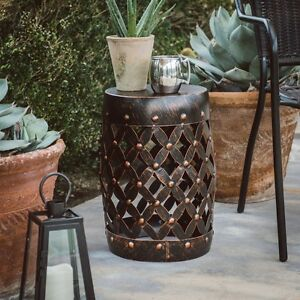 Image Is Loading Garden Stool Plant Stand Outdoor Seat Home Decor