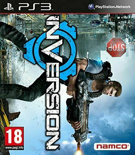 Inversion Game PS3 PlayStation 3 Video Game Mint Condition UK Release