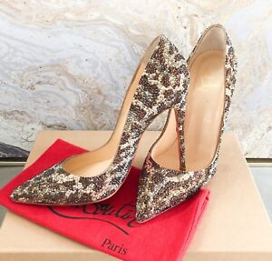 3d93c9b6adce Image is loading Christian-Louboutin-Pigalle-Leopard-Strass-Crystal- Embellished-Pump-