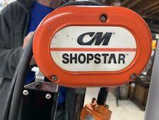Cm 300 Lb Capacity 16 Fpm Lift Speed Electric Chain Hoist 10ft Cain