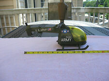 """Vintage Gay Toys Inc. U.S. Army Helicopter 85B9~ 15"""" Length~Item 785`Made In USA"""