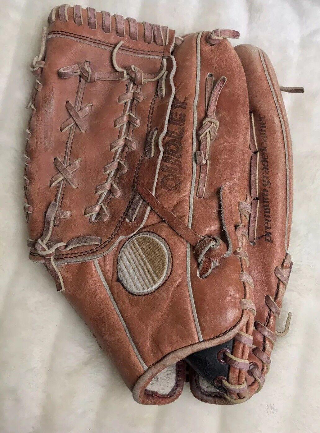 Dudley RHT DFG 400 Thunder Handcrafted Premium Pelle Baseball Glove