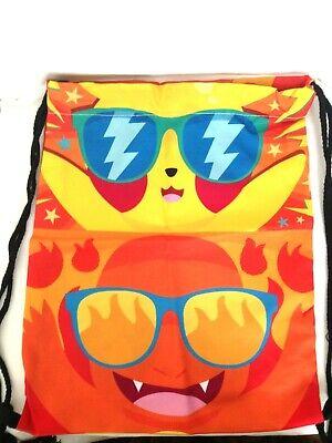 Adattabile Personalised Coulisse Borsa Zaino Scuola P.e Sport Nuoto Pikachu Tela Nuovo-mostra Il Titolo Originale Rinfrescante E Arricchente La Saliva