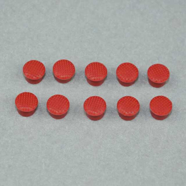 10pcs Rubber Mouse Pointer TrackPoint Red Cap for IBM Thinkpad Laptop MA