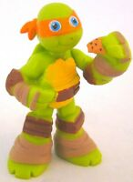 Michelangelo Teenage Mutant Ninja Turtles Pvc Toy Figure Cake Topper Figurine