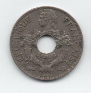 French-Indochina-5-Cent-1937-CuNi-KM-18-XF