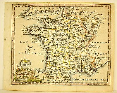 Carte De France Vue Par Les Anglais Map Of France By The English Xviii Bretagne Het Voeden Van Bloed En Het Aanpassen Van De Geest