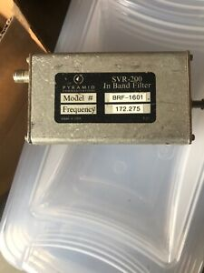 Pyramid-VHF-in-Band-Tunable-Notch-Filter-BRF-1601-Frequency-100-Watt-172-275