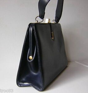 Dolfan Collection Sac Vers 1950 Vintage Cuir rrTvx