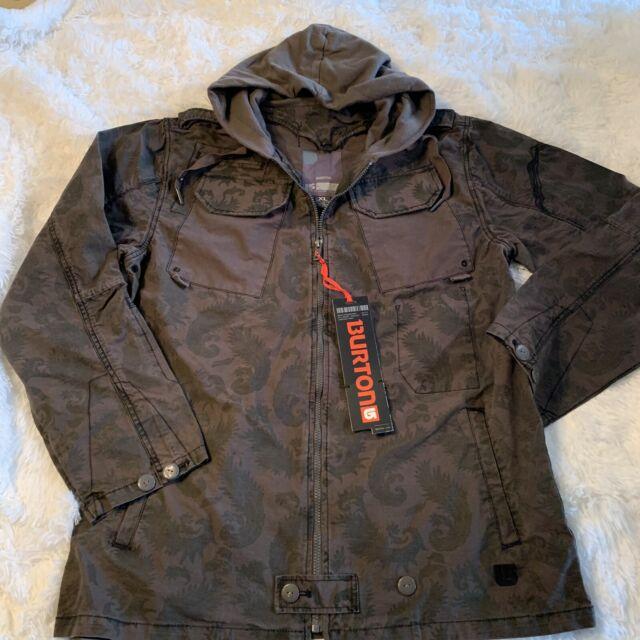 Fired Brick//Denim Burton Mens Covert Shell Jacket Small