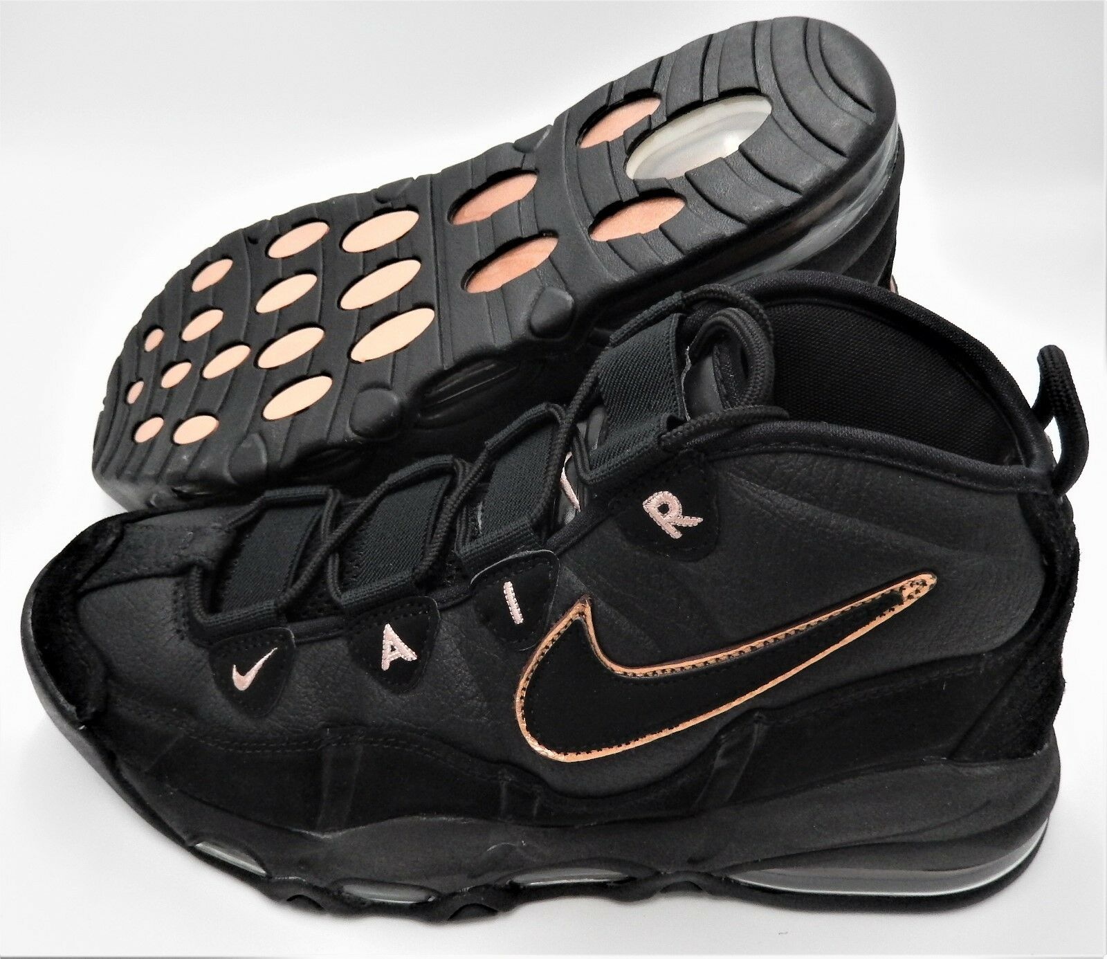 NEW NIKE AIR MAX UPTEMPO SIZE 8.5, 9, 9.5,12 BLACK BRONZE VINTAGE 311090 003