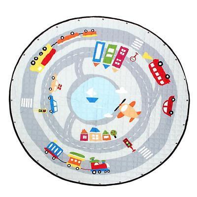 Large Foldable Kids Baby Game Toy Play Mat Soft Crawl Blanket Carpet Rug 01