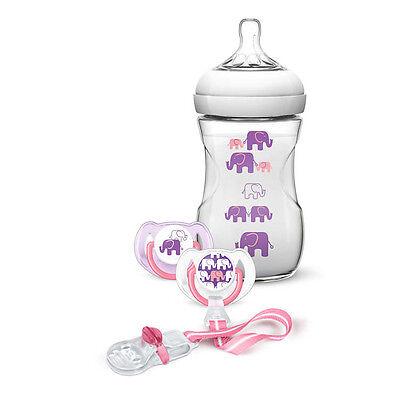 Gentle Philips Avent Set Elefantino Femmina Scd628/01 Baby