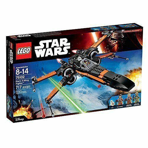 Lego 75102 Star Wars Poe's X-Wing Fighter Nuevo Sellado retirado