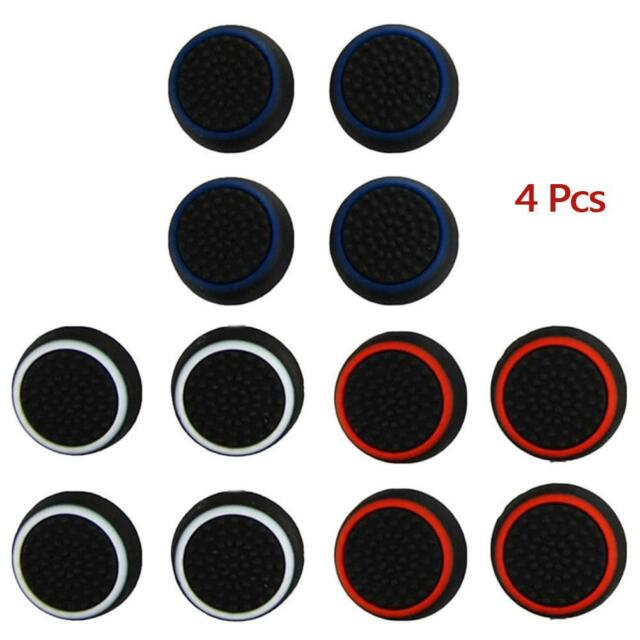 4x Silicone Thumb Grip Stick Caps For XPEX 360 ONE PLAYSTATION PS4 Controller#PE