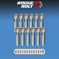 Sbf Intake Manifold Bolts Stainless Steel Kit Small Block Ford 289 302 5.0l 351w