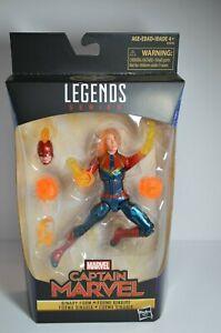Marvel Legends Hasbro Wal-Mart Binary Captain Marvel SEALED
