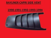 1990/91/92 Bayliner Capri Side Ventcowlingbrand Newoem Side Vents