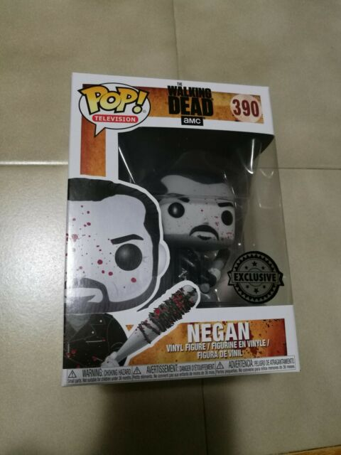 Funko POP ! Vinyl - NEGAN -  390 Exclusive -Walking Dead !!! NEW !!!
