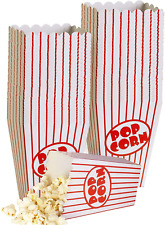 Small Movie Theater Popcorn Boxes Paper Popcorn Box Striped Red And White For