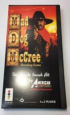 3DO Mad Dog McCree (COMPLETE LONG BOX) - FREE SHIPPING