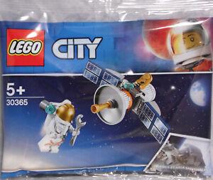 Lego-Space-Promo-30365-Raumfahrt-Satellit-Astronaut-Polybag-NEU