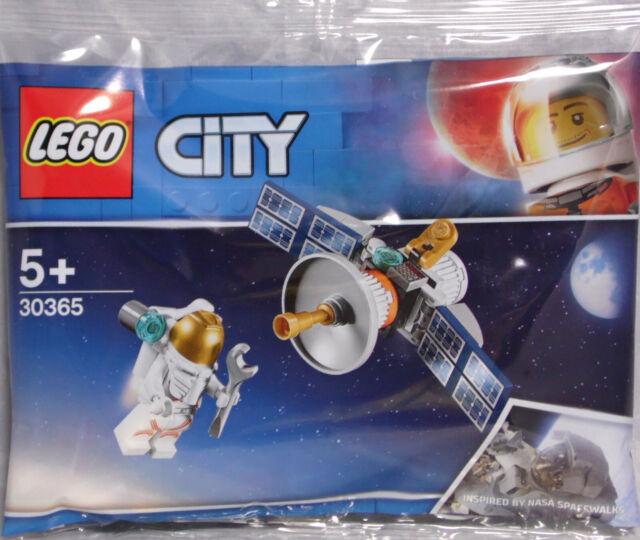 Lego Space Promo 30365 Raumfahrt-Satellit Astronaut Polybag  NEU